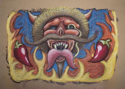 Devil's Spit Hot Sauce - Pastel