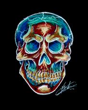 Jolly Rancher Skull