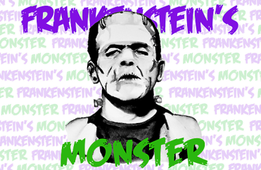 Frankenstein's Monster with Title