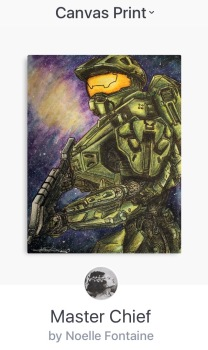 Master Chief Canvas