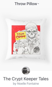 Crypt Keeper Pillow