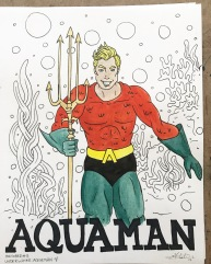 UNDER WATER - Aquaman