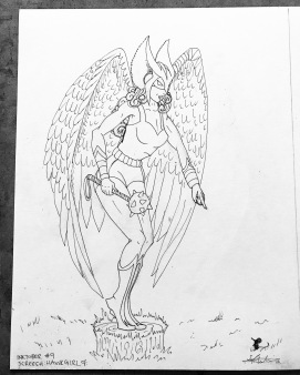 SKREECH - Hawk Girl