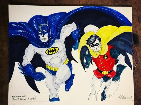 RUN - Dynamic Duo - Batman & Robin